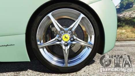 Ferrari 458 Italia [replace] для GTA 5 вид сзади справа