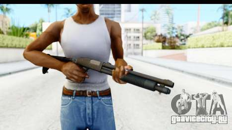 Tactical Mossberg 590A1 Black v4 для GTA San Andreas