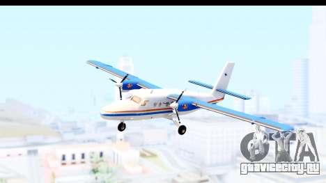 DHC-6-400 RCMPGRC для GTA San Andreas вид сзади слева