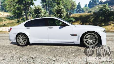 BMW 760Li (F02) Lumma CLR 750 [replace] для GTA 5 вид слева