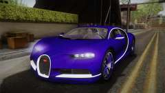 Bugatti Chiron 2017 v2.0 для GTA San Andreas