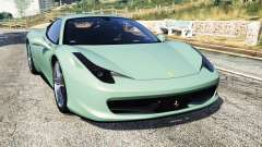 Ferrari 458 Italia [replace] для GTA 5