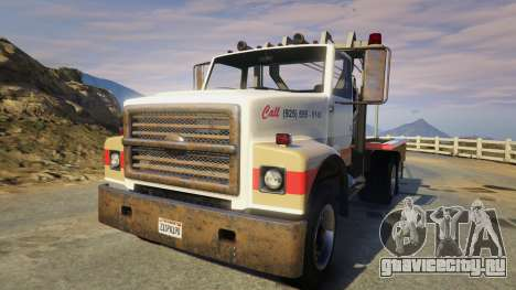 Teller-Morrow Towtruck from SOA для GTA 5