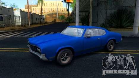 VC Xbox Sabre для GTA San Andreas