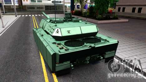 Leopard 2A7 для GTA San Andreas вид справа