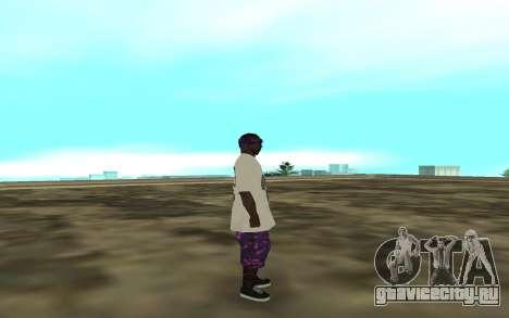 The Ballas 3 для GTA San Andreas второй скриншот