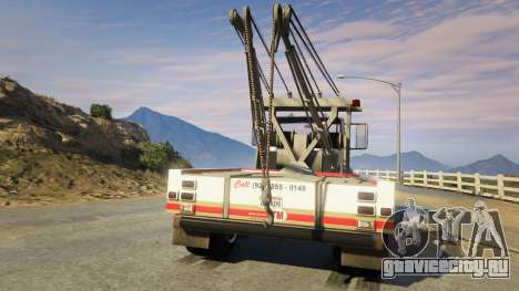 Teller-Morrow Towtruck from SOA для GTA 5