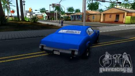 VC Xbox Sabre для GTA San Andreas вид справа