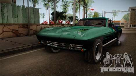 Chevrolet Corvette Coupe 1964 для GTA San Andreas