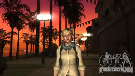 Resident Evil 6 - Shery Asia Outfit для GTA San Andreas