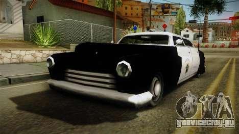 Hermes Classic Police San-Fierro для GTA San Andreas