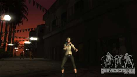 Resident Evil 6 - Shery Asia Outfit для GTA San Andreas второй скриншот