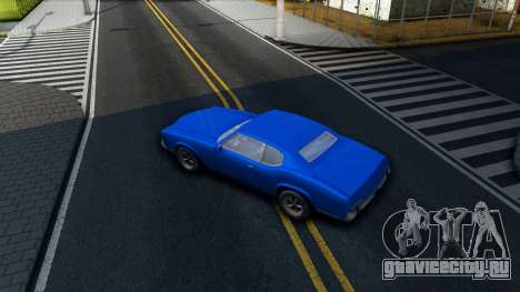 VC Xbox Sabre для GTA San Andreas вид изнутри
