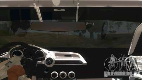 Mazda MX-5 2016 для GTA San Andreas вид изнутри