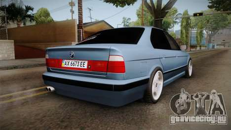BMW 5 Series E34 ЕК для GTA San Andreas