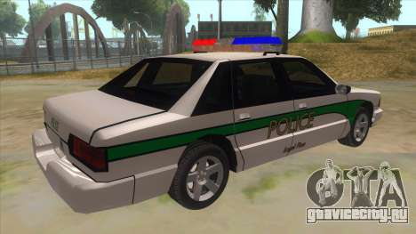 1992 Declasse Premier Angel Pine PD для GTA San Andreas вид справа