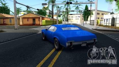 VC Xbox Sabre для GTA San Andreas вид сзади слева