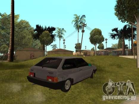 VAZ 2108 BPAN для GTA San Andreas вид слева