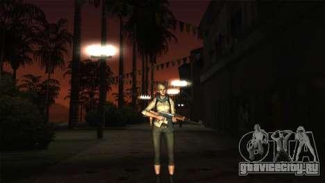 Resident Evil 6 - Shery Asia Outfit для GTA San Andreas третий скриншот