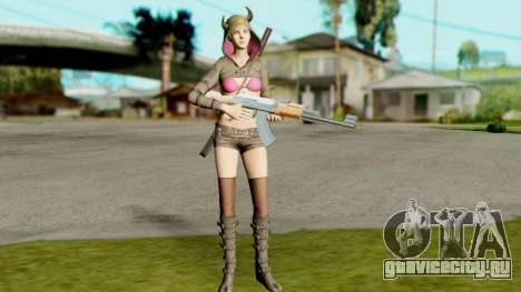Resident Evil Revelations 2 - Moira Burton Ninja для GTA San Andreas