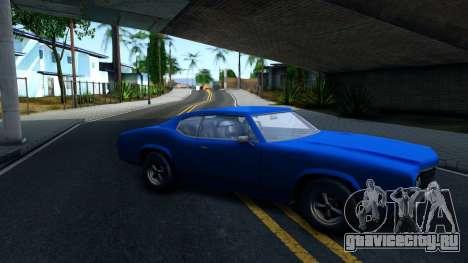 VC Xbox Sabre для GTA San Andreas вид слева