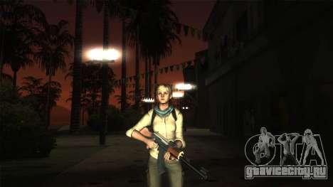 Resident Evil 6 - Shery Asia Outfit для GTA San Andreas четвёртый скриншот