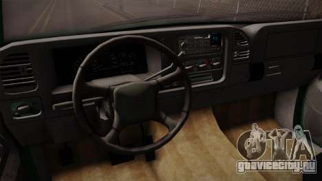 Chevrolet Suburban GMT400 1998 для GTA San Andreas вид сбоку