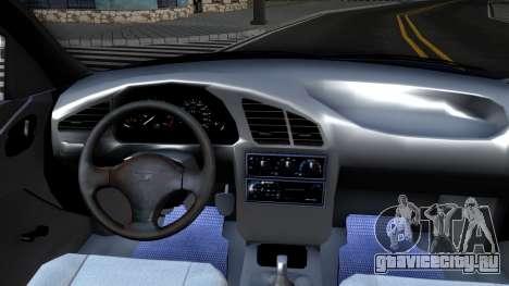 Daewoo Lanos для GTA San Andreas вид изнутри