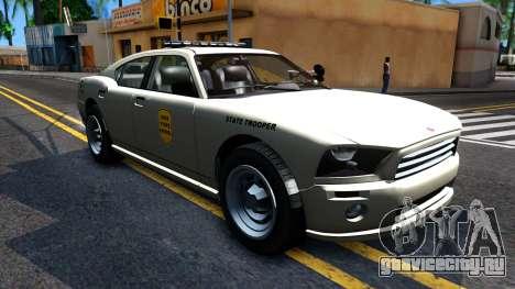 Bravado Buffalo 2008 Iowa State Patrol для GTA San Andreas