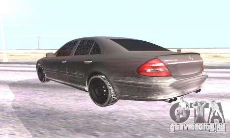 Mercedes-Benz E55 W211 AMG для GTA San Andreas вид слева