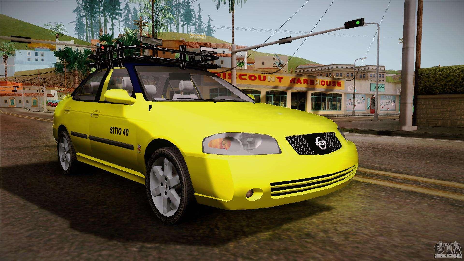 Nissan Sentra Taxi для GTA San Andreas