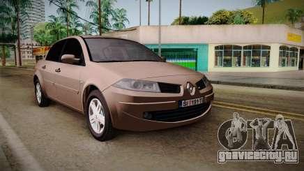 Renault Megane Sedan для GTA San Andreas