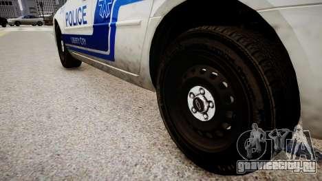 Chevrolet Impala Police для GTA 4 вид сзади