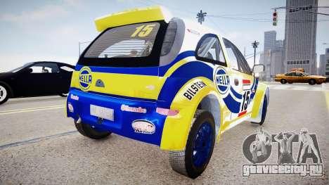 Opel Corsa «Yes, of Corsa» для GTA 4 вид слева