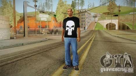 Футболка с черепом для GTA San Andreas третий скриншот