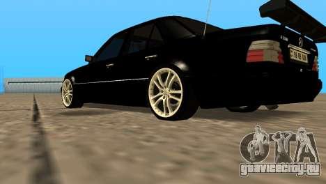 Mersedes-Benz E500 W124 Armenia для GTA San Andreas вид справа