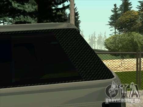 Range Rover Sport 2008 для GTA San Andreas вид сзади