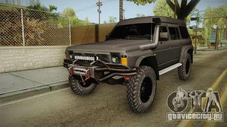 Nissan Safari Y60 для GTA San Andreas