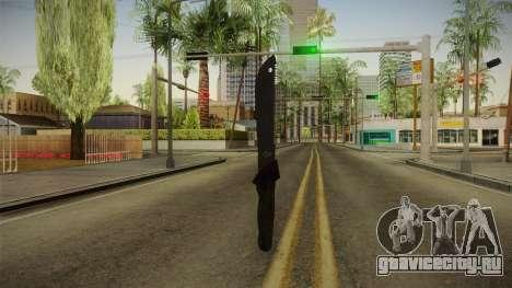 Support Knife для GTA San Andreas третий скриншот