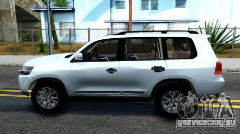 Toyota Land Cruiser 200 2016 для GTA San Andreas вид слева