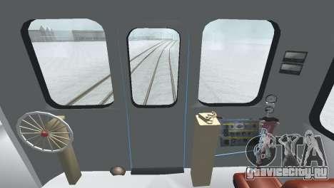 Вагон типа ЕмаЭГ 81-502 0002 для GTA San Andreas вид сверху