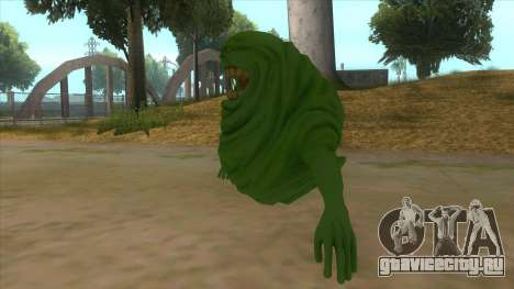 Slimer From Ghostbusters для GTA San Andreas вид слева