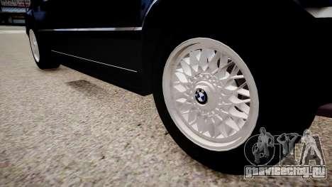 BMW 535i E34 ShadowLine v.3.0 для GTA 4 вид сзади