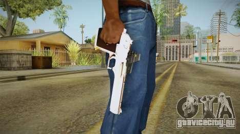 Desert Eagle с новой раскраской для GTA San Andreas