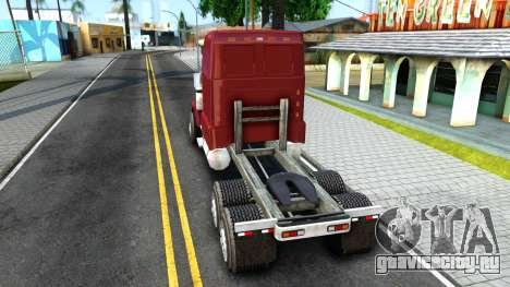 Truck From NFS Undercover для GTA San Andreas вид сзади слева