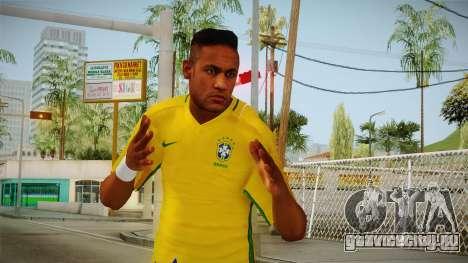 PES2016 - Neymar для GTA San Andreas