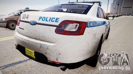 Tampa Airport Police для GTA 4 вид сзади слева
