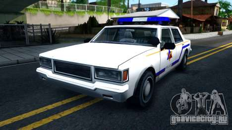 Vapid Stanier Hometown Police Department 1999 для GTA San Andreas