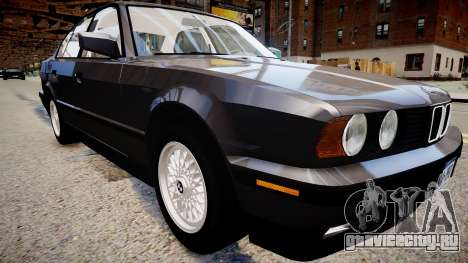 BMW 535i E34 ShadowLine v.3.0 для GTA 4