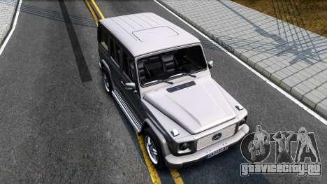Mercedes-Benz G500 v2.0 для GTA San Andreas вид справа